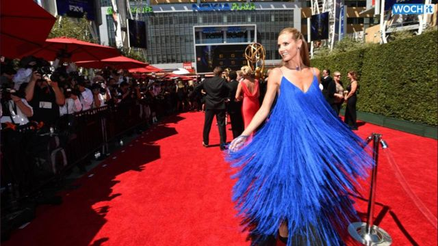 News video: Heidi Klum, Laverne Cox, Kate Mara, Judy Greer And More Stun On The Creative Arts Emmy Awards Red Carpet